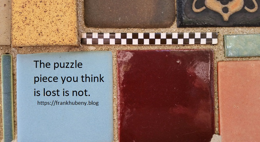 One-Liner Wednesday — Puzzle Piece