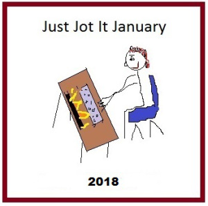 Linda G. Hill's Just Jot It January Prompt