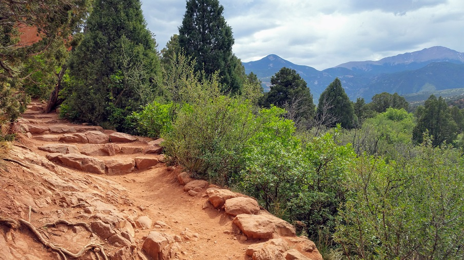 Trail at the Garden of the Gods