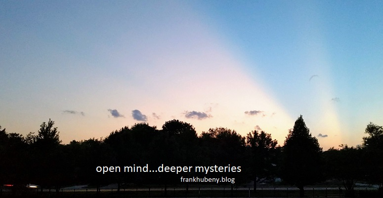 open mind...deeper mysteries