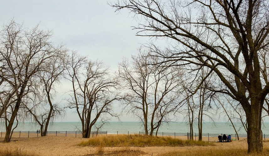 Lake Michigan in Late November