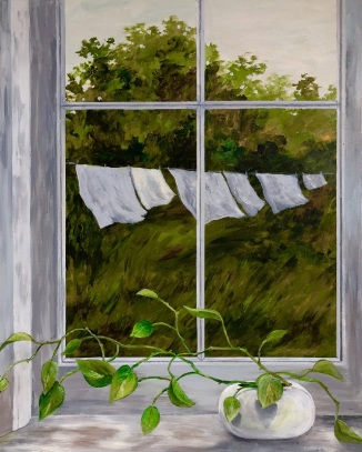 A painting by Doris Myers