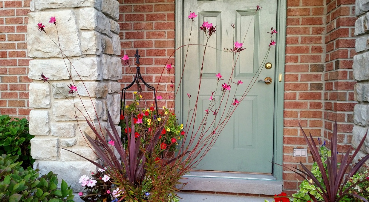 Flowers Guarding the Door