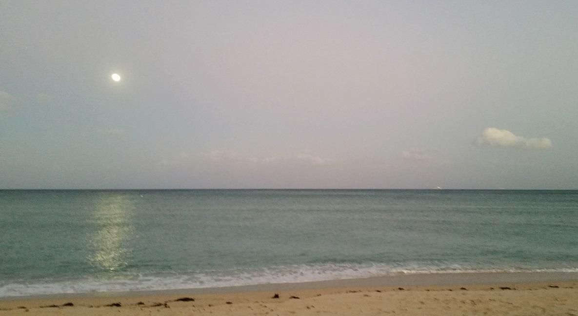 Moon with Ocean
