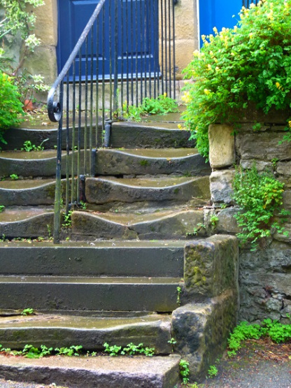 Sue Vincent's #writephoto prompt: worn-steps